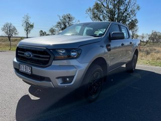 2021 Ford Ranger PX MkIII 2021.25MY XLS Aluminium 6 Speed Sports Automatic Double Cab Pick Up