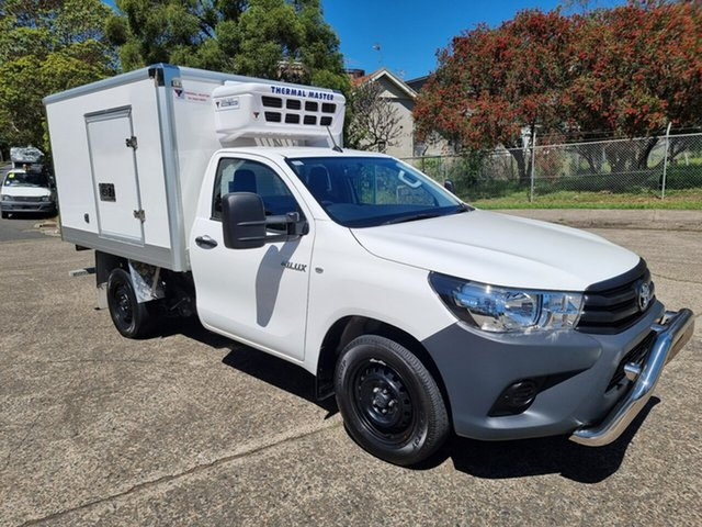 Used Toyota Hilux Homebush West, 2018 Toyota Hilux Freezer & Refrigerated White Automatic Utility