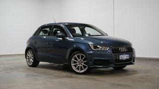 2016 Audi A1 8X MY17 Sportback S Tronic Blue 7 Speed Sports Automatic Dual Clutch Hatchback.