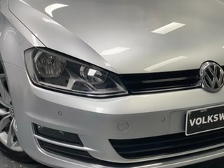 2013 Volkswagen Golf VII 103TSI DSG Highline Reflex Silver 7 Speed Sports Automatic Dual Clutch.