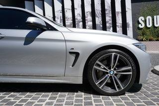 2015 BMW 4 Series F36 435i Glacier Silver 8 Speed Sports Automatic Hatchback.