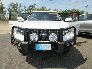 2019 Toyota Landcruiser Prado White 6 Speed Automatic Wagon.