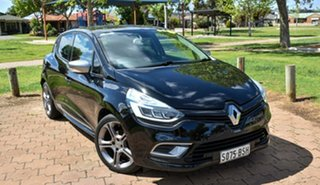 2017 Renault Clio IV B98 Phase 2 GT-Line EDC Black 6 Speed Sports Automatic Dual Clutch Hatchback.