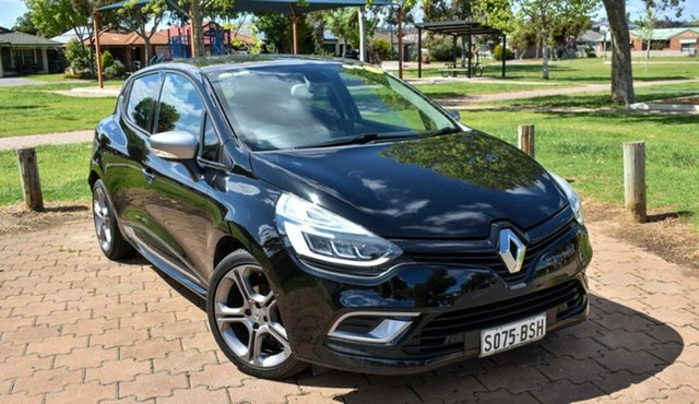 Used Renault Clio IV B98 Phase 2 GT-Line EDC Ingle Farm, 2017 Renault Clio IV B98 Phase 2 GT-Line EDC Black 6 Speed Sports Automatic Dual Clutch Hatchback