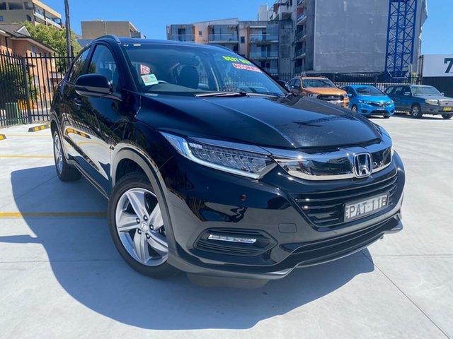 Used Honda HR-V MY21 VTi-S Homebush, 2020 Honda HR-V MY21 VTi-S Black 1 Speed Constant Variable Hatchback