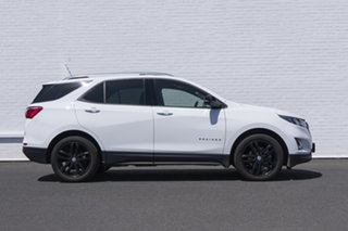 2020 Holden Equinox EQ MY20 Black Edition FWD White 6 Speed Sports Automatic Wagon.