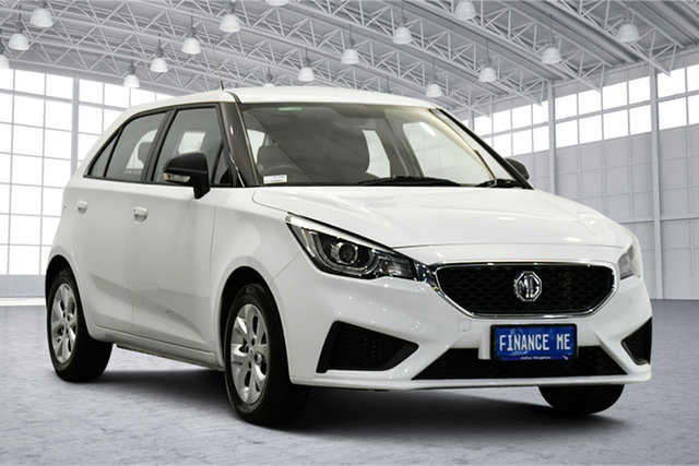 Used MG MG3 SZP1 MY21 Core Victoria Park, 2021 MG MG3 SZP1 MY21 Core Dover White 4 Speed Automatic Hatchback