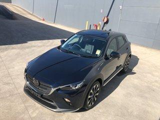 2021 Mazda CX-3 DK2W7A Akari SKYACTIV-Drive FWD Deep Crystal Blue 6 Speed Sports Automatic Wagon.