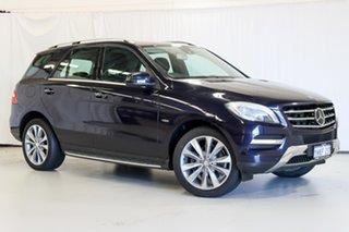 2012 Mercedes-Benz M-Class W166 ML350 BlueTEC 7G-Tronic + Blue 7 Speed Sports Automatic Wagon.