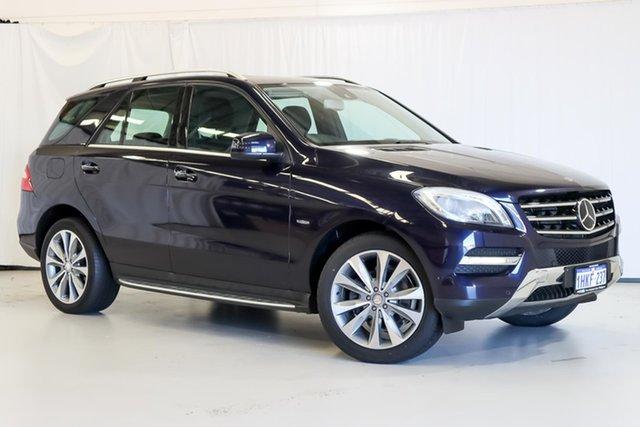 Used Mercedes-Benz M-Class W166 ML350 BlueTEC 7G-Tronic + Wangara, 2012 Mercedes-Benz M-Class W166 ML350 BlueTEC 7G-Tronic + Blue 7 Speed Sports Automatic Wagon