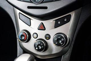 2012 Holden Barina TM MY13 CD Silver 6 Speed Automatic Sedan