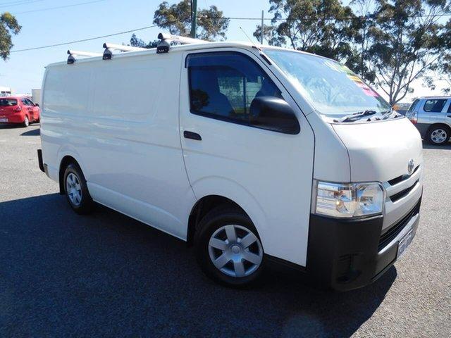 Used Toyota HiAce KDH201R LWB Wangara, 2017 Toyota HiAce KDH201R LWB White 4 Speed Automatic Van