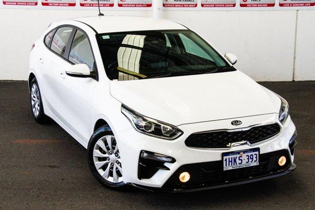 Pre-Owned Kia Cerato BD MY19 S Rockingham, 2019 Kia Cerato BD MY19 S White 6 Speed Automatic Hatchback