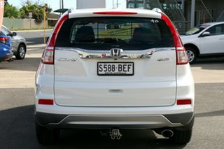 2014 Honda CR-V RM Series II MY16 VTi 4WD White Orchid 5 Speed Sports Automatic Wagon