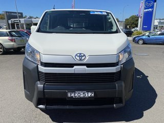 2019 Toyota HiAce GDH300R LWB White 6 Speed Manual Van.