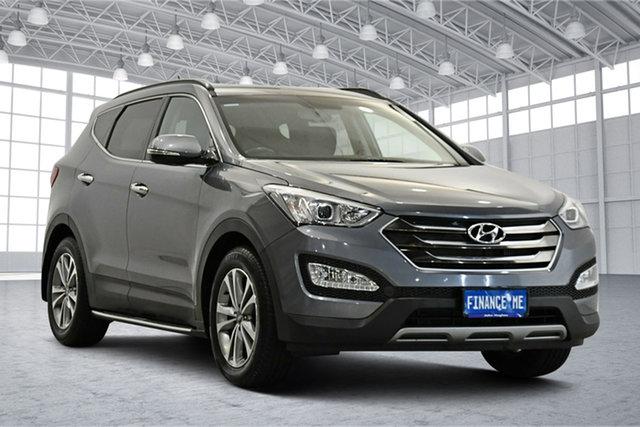 Used Hyundai Santa Fe DM3 MY16 Elite Victoria Park, 2015 Hyundai Santa Fe DM3 MY16 Elite Grey 6 Speed Sports Automatic Wagon