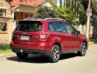 2015 Subaru Forester S4 MY15 XT CVT AWD Premium Red 8 Speed Constant Variable Wagon
