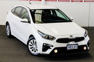 2019 Kia Cerato BD MY19 SI White 6 Speed Automatic Hatchback.