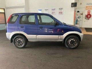 2003 Daihatsu Terios J102 DX Blue 5 Speed Manual Wagon.