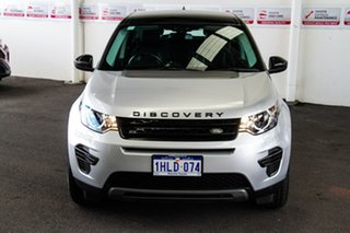 2018 Land Rover Discovery Sport L550 MY18 TD4 (110kW) SE 7 Seat Silver 9 Speed Automatic Wagon.