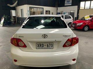 2007 Toyota Corolla ZRE152R Ascent White 4 Speed Automatic Sedan