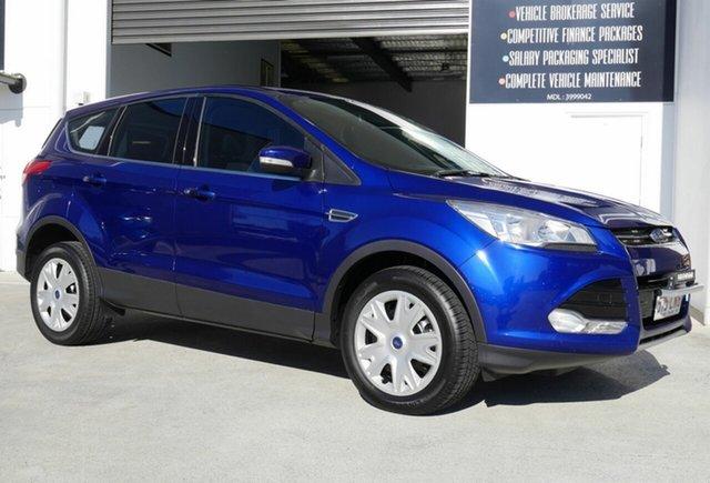 Used Ford Kuga TF MY16.5 Ambiente 2WD Capalaba, 2016 Ford Kuga TF MY16.5 Ambiente 2WD Blue 6 Speed Sports Automatic Wagon