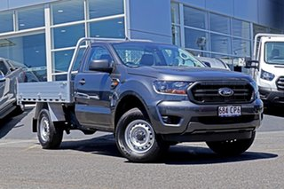 2021 Ford Ranger PX MkIII 2021.25MY XL Grey 6 Speed Manual Single Cab Chassis.