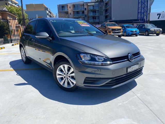 Used Volkswagen Golf VII MY17 92TSI DSG Trendline Homebush, 2017 Volkswagen Golf VII MY17 92TSI DSG Trendline Grey 7 Speed Sports Automatic Dual Clutch