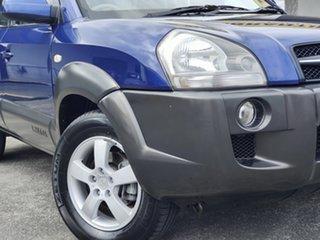 2005 Hyundai Tucson JM Blue 4 Speed Sports Automatic Wagon.