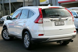 2014 Honda CR-V RM Series II MY16 VTi 4WD White Orchid 5 Speed Sports Automatic Wagon.