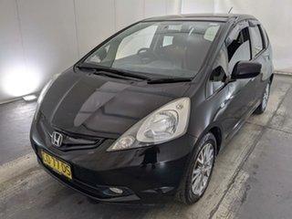 2010 Honda Jazz GE MY10 VTi Vibe Black 5 Speed Automatic Hatchback.