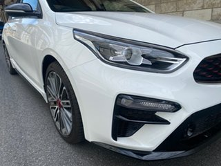 2021 Kia Cerato BD MY21 GT DCT Clear White 7 Speed Sports Automatic Dual Clutch Sedan.