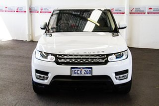 2016 Land Rover Range Rover LW MY16 Sport 3.0 SDV6 HSE White 8 Speed Automatic Wagon.