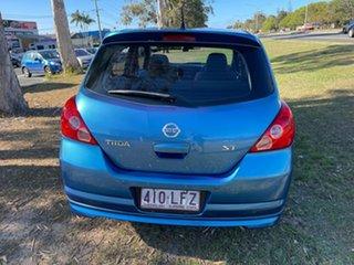 2006 Nissan Tiida C11 ST Blue 4 Speed Automatic Hatchback