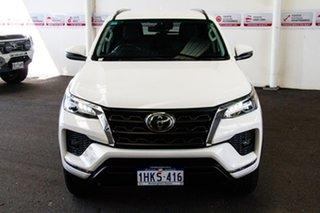 2020 Toyota Fortuner GUN156R GXL Glacier White 6 Speed Automatic Wagon.