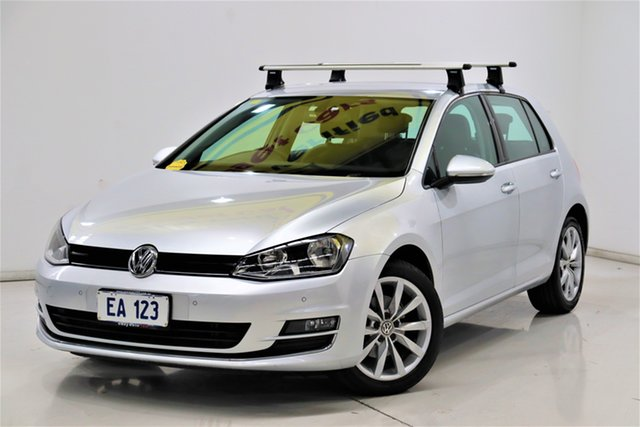 Used Volkswagen Golf VII MY16 110TSI DSG Highline Brooklyn, 2016 Volkswagen Golf VII MY16 110TSI DSG Highline Silver 7 Speed Sports Automatic Dual Clutch