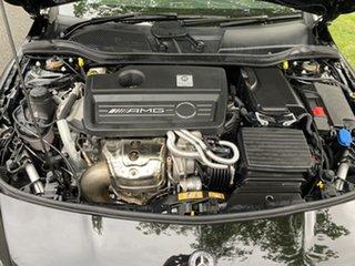 2018 Mercedes-Benz CLA-Class C117 809MY CLA45 AMG SPEEDSHIFT DCT 4MATIC Black 7 Speed.