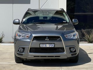 2010 Mitsubishi ASX XA MY11 Aspire Grey 6 Speed Manual Wagon.