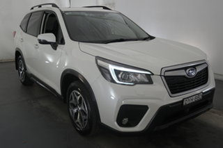 2018 Subaru Forester S5 MY19 2.5i CVT AWD White 7 Speed Constant Variable Wagon.