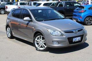 2010 Hyundai i30 FD MY11 SR Grey 5 Speed Manual Hatchback.