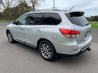 2014 Nissan Pathfinder R52 ST-L Silver Constant Variable Wagon.