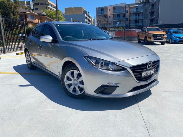 Used Mazda 3 BM5478 Neo SKYACTIV-Drive Homebush, 2014 Mazda 3 BM5478 Neo SKYACTIV-Drive Silver 6 Speed Sports Automatic Hatchback