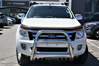 2012 Ford Ranger PX XLT Double Cab 6 Speed Manual Utility.