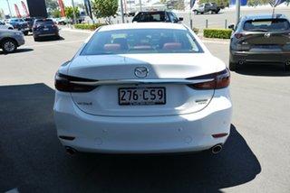 2021 Mazda 6 GL1033 GT SP SKYACTIV-Drive White 6 Speed Sports Automatic Sedan.