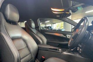 2011 Mercedes-Benz C-Class C204 C250 BlueEFFICIENCY 7G-Tronic + Black 7 Speed Sports Automatic Coupe