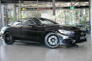 2016 Mercedes-Benz S-Class C217 806MY S500 9G-Tronic PLUS Black 9 Speed Sports Automatic Coupe.