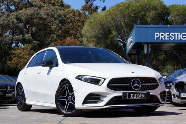 Used Mercedes-Benz A-Class W177 800+050MY A180 DCT Balwyn, 2019 Mercedes-Benz A-Class W177 800+050MY A180 DCT 7 Speed Sports Automatic Dual Clutch Hatchback