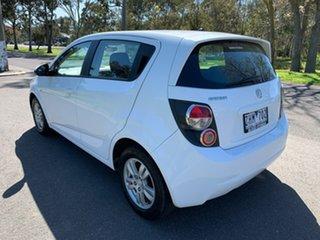 2012 Holden Barina TM CD White Automatic Hatchback.