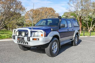 2003 Nissan Navara D22 MY2002 ST-R Blue 5 Speed Manual Utility