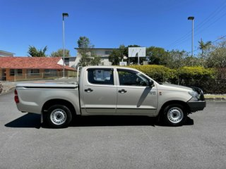 2012 Toyota Hilux GGN15R SR Gold 5 Speed Manual Dual Cab.